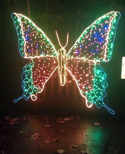 ZooLights runs November 25 - January 1, closed December 24-25
